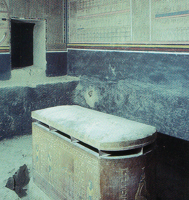 Amenhotep the 2nd tomb